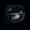 Glass Bead Flat 15/14mm Alexandrite Wavy Oval - Strung